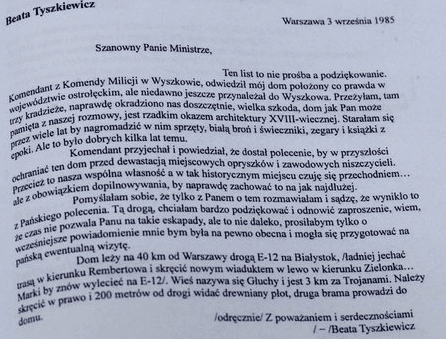 beata tyszkiewicz szafa kiszczaka