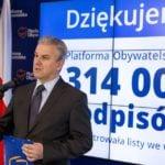 Cezary Grabarczyk z zarzutami. Prokuratura: Były minister w rządzie PO-PSL poświadczył nieprawdę