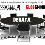 Media niezależne zapraszają do debaty kandydatów do Sejmu RP z okręgu nr 12