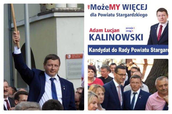 Adam Lucjan Kalinowski - powiat stargardzki zasługuje na radnych z wizją
