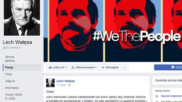 """Lech Wałęsa do Internautów: """"Wy swołocz i zwyrodniałe sk...syny"""""""