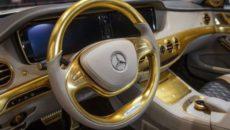 Złoty mercedes – dar od spółki Ewa & Przyjaciele
