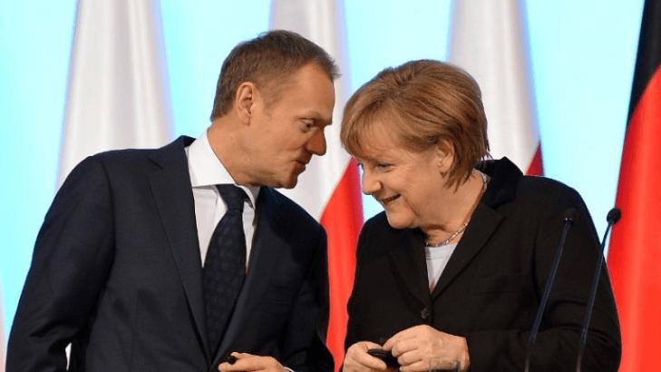 """Kanclerz Niemiec """"ustami"""" Unii dobija Platformę Obywatelską i straszy Polaków"""