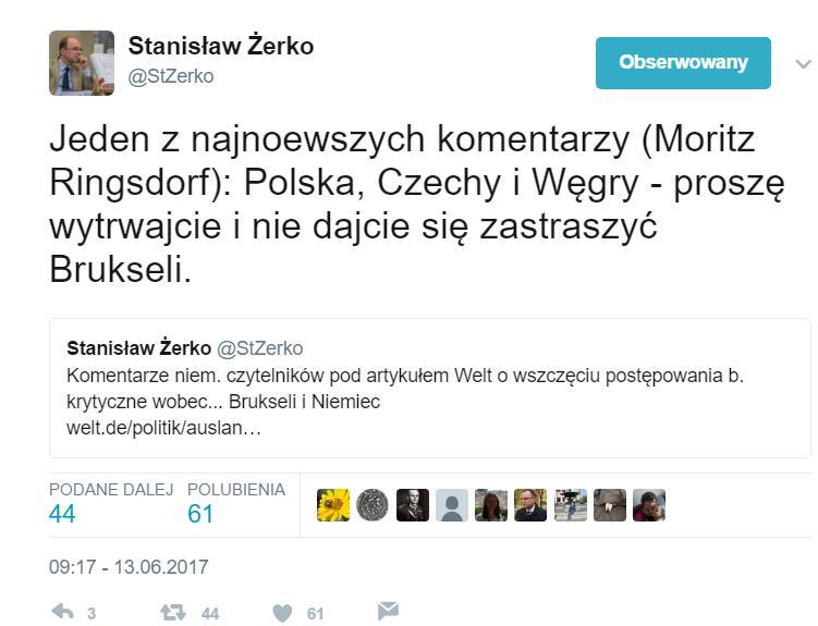 Niemcy kibicują Polsce w sprawie imigrantów