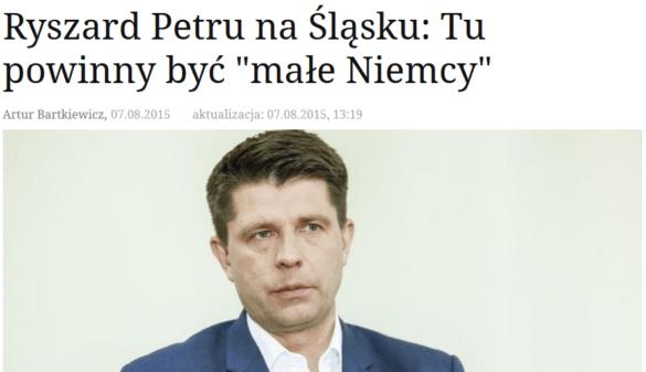 """""""NOWOCZESNA"""" wizja Śląska: czy to czas na granie na emocjach narodowościowych?"""