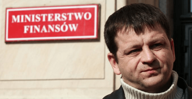 Sławomir Siwy, przewodniczący Związku Zawodowego Celnicy.pl