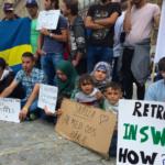 Protesty imigrantów w Szwecji przeciwko nowym przepisom azylowym