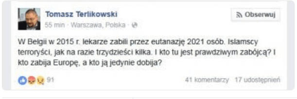 terlikowski o zamachach