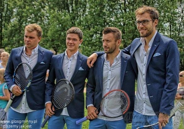 w szczecińskiej Floating Arenie losowanie kolejności meczów spotkania II rundy Grupy I Strefy Euro-Afrykańskiej Pucharu Davisa Polska - Ukraina (w dniach 17-19 lipca br)