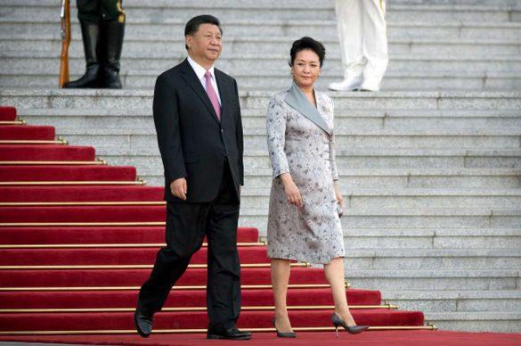 żona Peng Liyuan