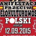 """WARSZAWA: Manifestacja pod hasłem """"Stop Wielokulturowości Europy"""""""