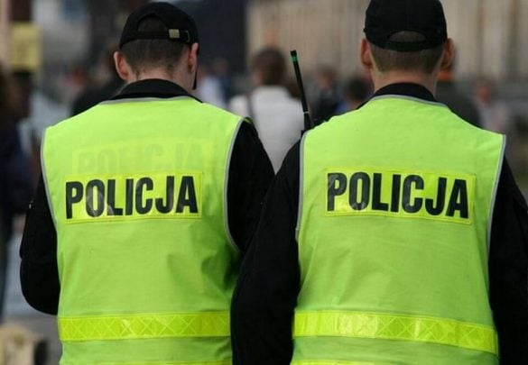 Anonimowa zemsta na Policjantach za protesty