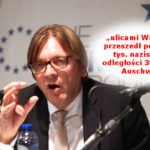 Jest wniosek o niewpuszczanie na teren Polski Guya Verhofstadta