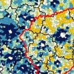 Wieś A i wieś B. Różnice w strukturze gmin są znaczące.