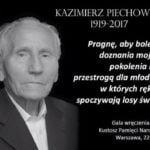 Kazimierz Piechowski, legendarny uciekinier z niemieckiego obozu Auschwitz, żołnierz Armii Krajowej.
