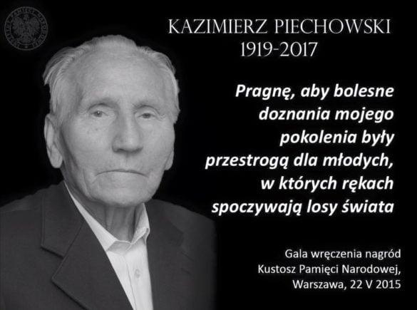 Kazimierz Piechowski, legendarny uciekinier z niemieckiego obozu