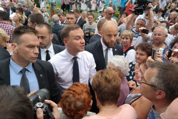 Prezydent ANdrzej Duda będzie atakowany coraz mocniej