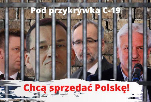 Zamierzają sprzedać Polskę