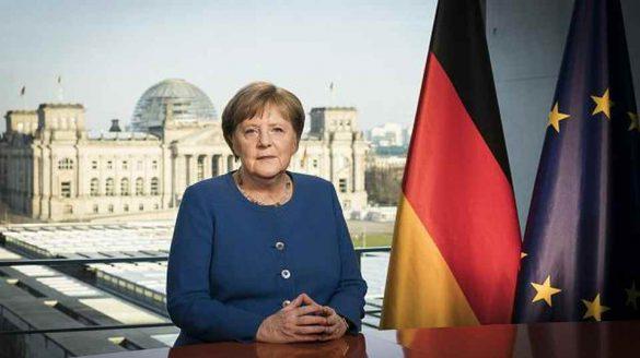 Przemówienie Angeli Merkel do narodu niemieckiego