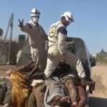 """Materiał o tym jak media zachodnie kłamią w sprawie Syrii … """"Białe hełmy"""" w Syrii"""