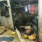 FILM: moment wybuchu w metrze w Brukseli