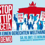 Potężna demonstracja w Berlinie. Było ACTA teraz TTIP … wszystko w tajemnicy!