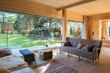 Domz drewna w technologii Holz100