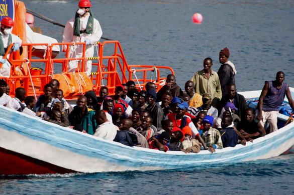 uchodzcy z afryki