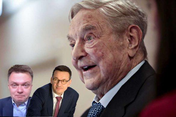 George Soros, Morawiecki, Hołownia