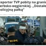 Dziennikarz TVP Jacek Tacik – jednodniowy celebryta czy niemoralny męczennik?