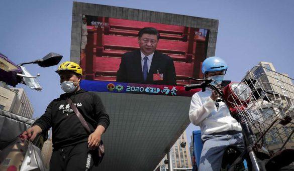 koronawirus uczyni Chiny liderem