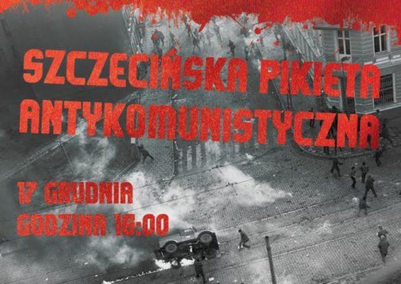 szczecinska pikieta antykomunistyczna