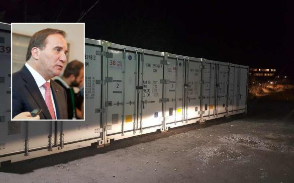 Szwecja zamawia kontenery chłodnicze na większą ilość zwłok