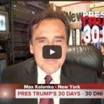 Donald Trump walczy z durnymi mediami